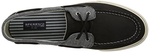 SPERRY - Baskets basses - Homme - Baskets Bicolore Noir et Denim Bahama pour homme Grey