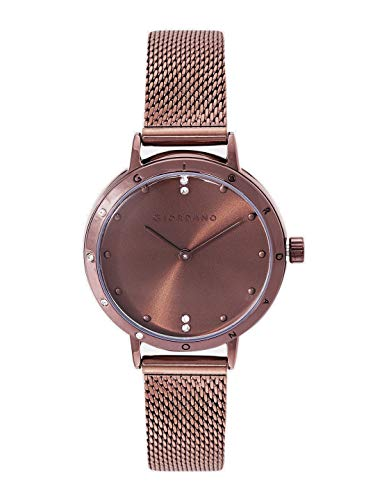 Giordano Analog Brown Dial Women's Watch-A2085-22