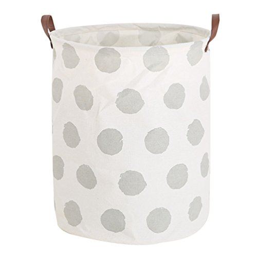 Dooxi Pliable Panier de Rangement avec Poignée Bac à Linge pour Vêtements Stockage de Jouets Household Organisateu