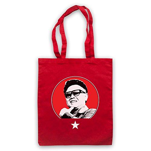 Kim Jong Il Nord Coreano Dittatore Capo Tasche Rosse