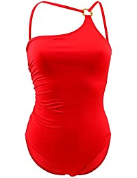 Traje de baño una pieza Livia Lavandou Magnola Rojo