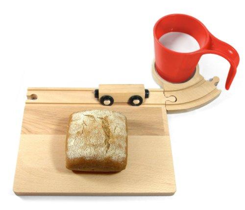Neue Freunde - EISENBAHN Frühstücks-Set, rot
