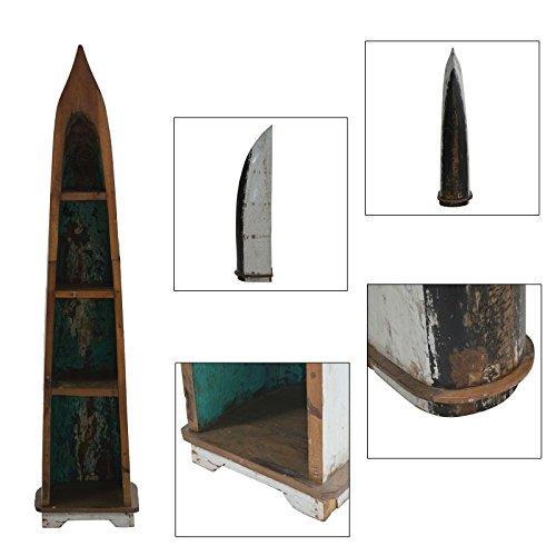 plob 1062015Boot Regalen, mehrfarbig, 45x 50x 210cm (Boot Bank)