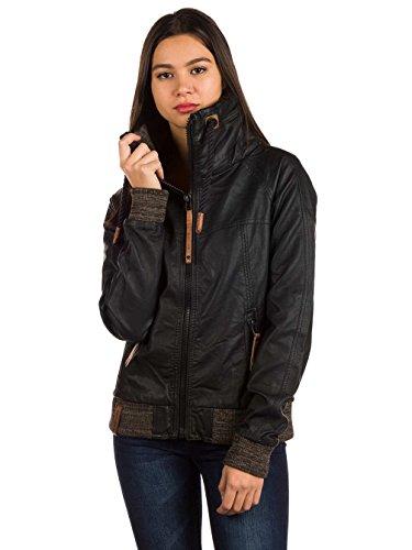 Damen Jacke Naketano Hilde Gorgonzola Jacket, Black, Gr. S