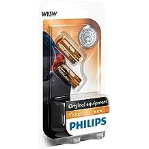 Philips 12396NAB2 - Bombillas para intermitente de coche (WY5W, 5 W, 2 unidades)
