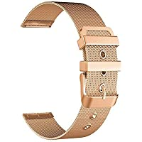 BarRan reg; Withings Activité Pop Bracelet, 18mm Milanese bande Watch Quick Release bracelet en acier inoxydable pour Withings Activité Pop