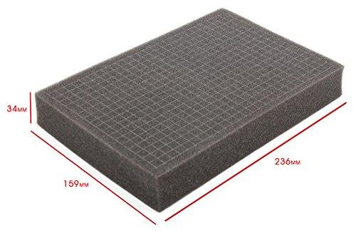 Widerstandsfähiger koffer mit aluminium design geeignet für den