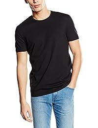 Celio - T-shirt - Uni - Col rond - Manches courtes - Homme