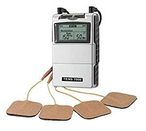 Tens Unit Muscle Stimulator - Tens Machine for Pain Management, Back Pain and Rehabilitation.