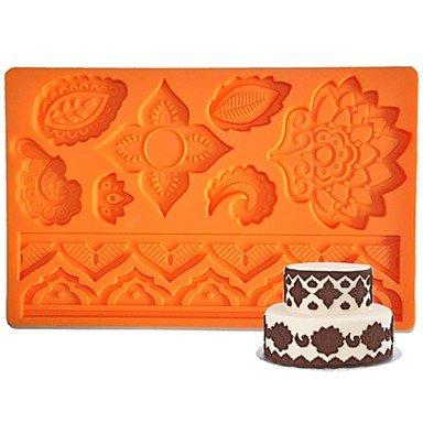 lllzz four-c Silikon Formen Flower Fondant und Zuckerguss Matte, Kuchen Supplies Fondant Gum Paste Matte Kuchen Werkzeuge - Turtles-silikon-form Ninja