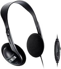 Pioneer SE-A611TV Dynamischer Over-Ear-Kopfhörer (offen, 96dB, 3,5mm Klinke, 5m Kabellänge) für Fernseher, Schwarz - Headset