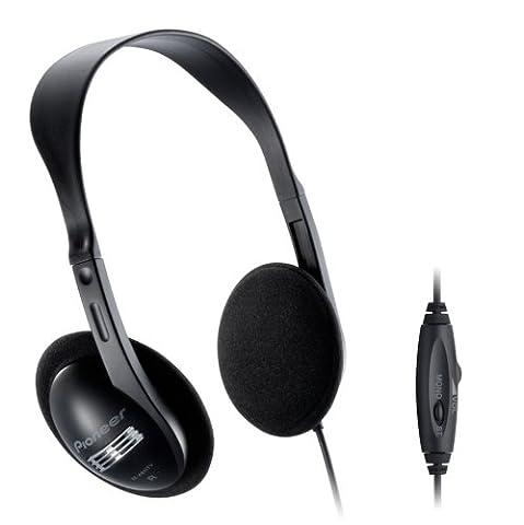 Pioneer SE-A611TV Dynamischer Over-Ear-Kopfhörer (offen, 96dB, 3,5mm Klinke, 5m Kabellänge)