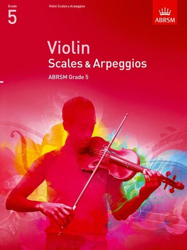 Violin Scales & Arpeggios, ABRSM Grade 5 Cover Image