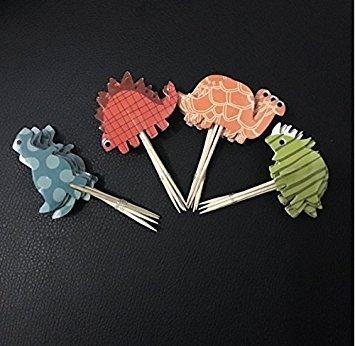 Honeysuck Dinosaurier-Kuchendekoration, für Muffin Cupcake Kuchen