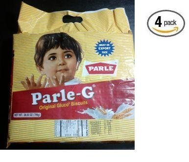 Parle-G 28.05 oz (Pack of 4) by Parle