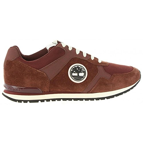 Timberland Retro Runner, Oxford para Hombre, Marrón (Brandy), 44 EU