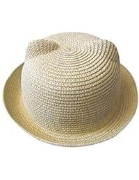 5Five Carino 13 colori estate bambino cappello unisex cappello bambini  protezione solare traspirante cappello di paglia 9b2806995fd2