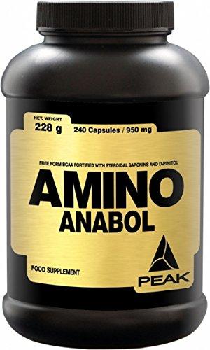 #Peak Amino Anabol, 240 Kapseln (1 x 228 g)#