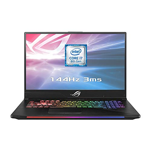 ASUS ROG Strix GL704GM-EV001T Scar II 17 3 Inch 144Hz 3ms Gaming Laptop -  (Black) (Intel i7-8750H Processor, 16 GB RAM, 256 GB PCI-e SSD + 1 TB