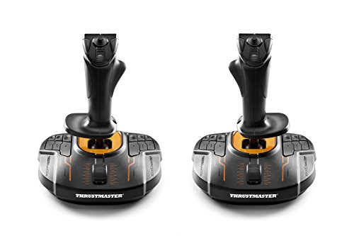 gamer ta e Thrustmaster T.16000M Space Sim Duo Stick (Hosas System, T.A.R.G.E.T Software, PC)