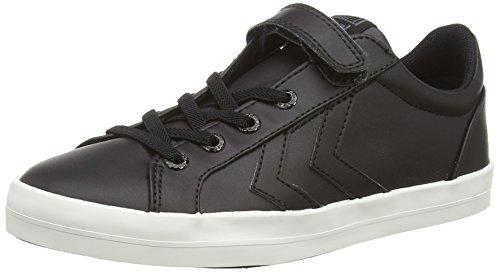 hummel DEUCE COURT Jungen Sneakers Schwarz (Black 2001)