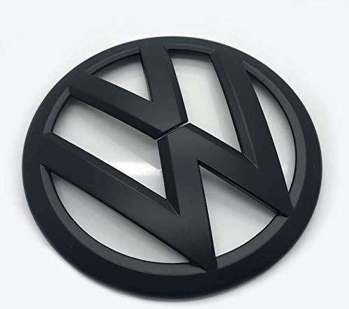 Matt-Schwarz 110mm Rückseite Boot Lid Tailgate Trunk Abzeichen Emblem Für Golf 6 MK6 2009-2012