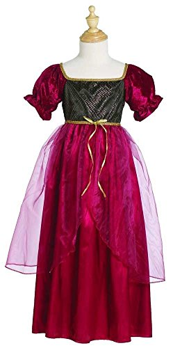 Julia Kostüm Child - Kleid Juliette weinrot M (4-6 Jahre)