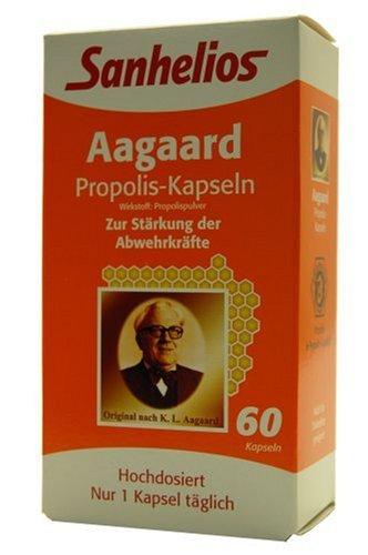 Sanhelios 2540 Aagaard Propolis Kapseln, 60er