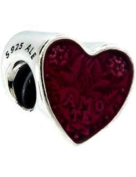 Liebesbotschaft Amo te heart