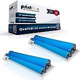 2x Kompatible Thermorollen Philips Magic 5 5 Basic 5 Basic Dect 5 Colour Dect 5 ECO Basic Dect 5 ECO Classic 5 ECO Primo 5 ECO Primo Smart 5 ECO Voice PFA351 252422040 Color Light Serie