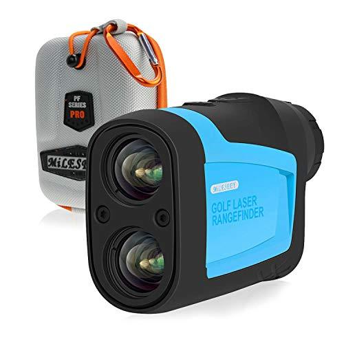 MiLESEEY Precision Pro Golf Entfernungsmesser Laser Fernglas für Golfer 660 Yard (ca. 600 Meter) 6x-Vergrößerung mit Slope / Pin / Scanning-Modell Präzisionsentfernungsmesser für das Golftraining