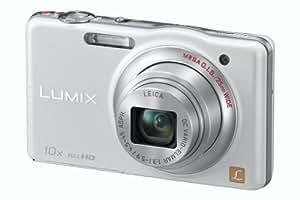 Panasonic Lumix DMC-SZ7EG-W Digitalkamera (14 Megapixel, 10-fach opt. Zoom, 7 cm (2,9 Zoll) Display, bildstabilisiert) perlmutt-weiß