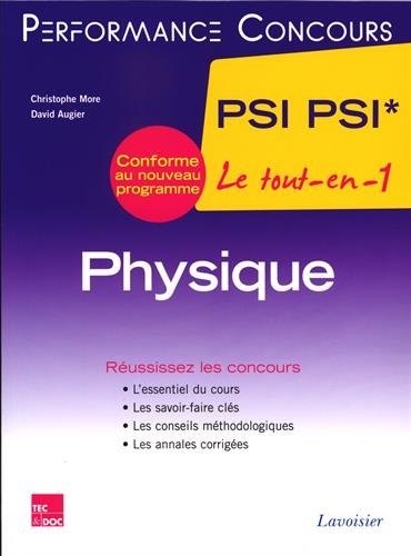 Physique 2e année PSI PSI*