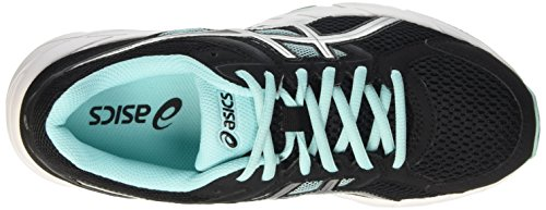 Asics Damen Gel-Contend 3 Gymnastik Nero (Black/Lightning/Aruba Blue)