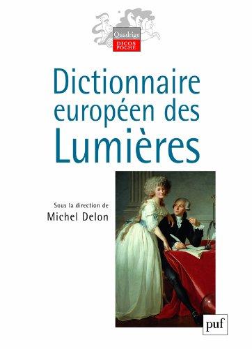 Dictionnaire europen des Lumires
