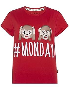 Monkey Emoji Pigiama due pezzi - Donna