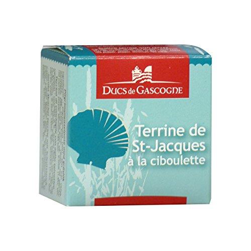 Ducs de Gascogne - Terrine de Saint-Jacques à la ciboulette 65g
