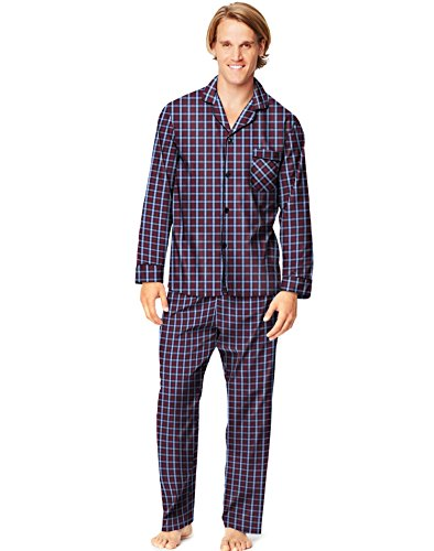 Hanes-Ensemble-de-pyjama-Manches-Longues-Homme