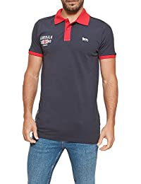 Lonsdale Homme Polo Embroidered Logo Brodé