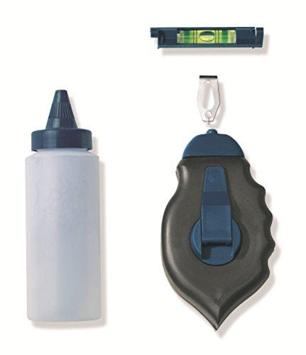 Color Expert 98353099 Schlagschnur mit Fläschchen für Kreidepulver und Libelle