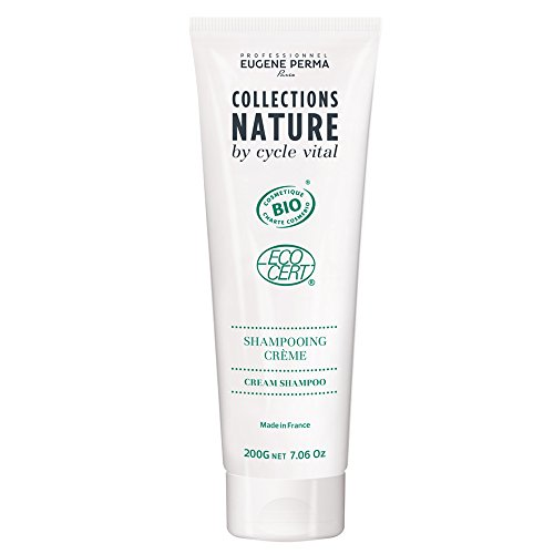 EUGENE PERMA Professionnel Collections Nature by Cycle Vital Shampoing Crème Certifié Biologique 200 g