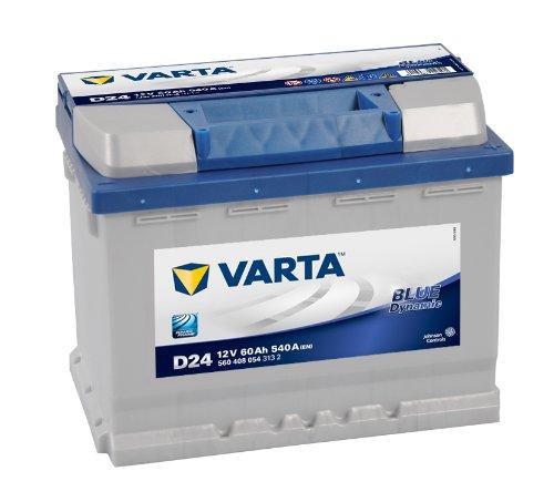 Preisvergleich Produktbild Varta D24 Blue Dynamic Starterbatterie 5604080543132 12V 60Ah 540A