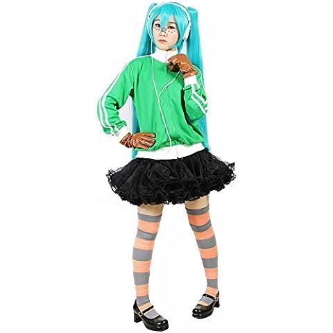 Hatsune Miku Matrigel ciervos jersey guante de cuero con una hembra del traje de Vocaloid de una talla ?nica para todos (jap?n