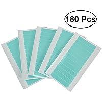 Frcolor Cintas Adhesivas de Extensión para Pelo de Doble Cara 180 Piezas