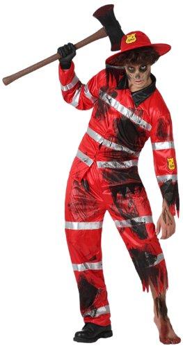 Costume da Pompiere Zombie Uomo Taglia2 M/L_14902