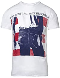 Bruce Springsteen Born In The USA T Shirt (White)