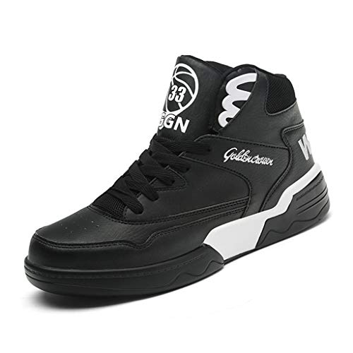 Ofti Art und Weiseherbst Winter Steigern Sie innerhalb Teens Hohe Hilfe Sport Hip Hop Mann Straßen Tanz Beiläufige Schuh Gezeiten Schuhe Sneaker Laufschuhe Turnschuhe - Schuhe Hip Hop