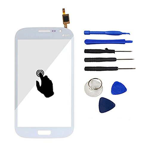 White Color With Tools Touch Screen Panel Digitizer Front Glass Replacement For Samsung Galaxy Grand Duos I9082  available at amazon for Rs.1299