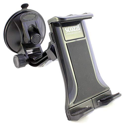 scozzi KFZ Halter kompatibel mit HTC U12 U11 U Ultra Play One A9 A9s E9 E8 M9 M8 M8s ME X10 X9 X Mini 2 Max S V 10 Desire 12 10 830 828 826 | Plus Pro Life Eyes Prime evo + mehr Auto Halterung E8 Handy