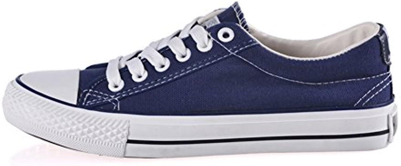 Clásico par de lona de color claro/Zapatos de mujer/ Coreanos bajo transpirable zapatos casuales de plano/Zapatos...